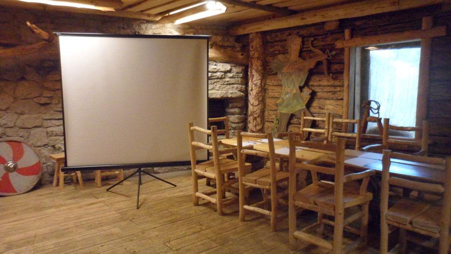 viikingite küla Seminari ruumid