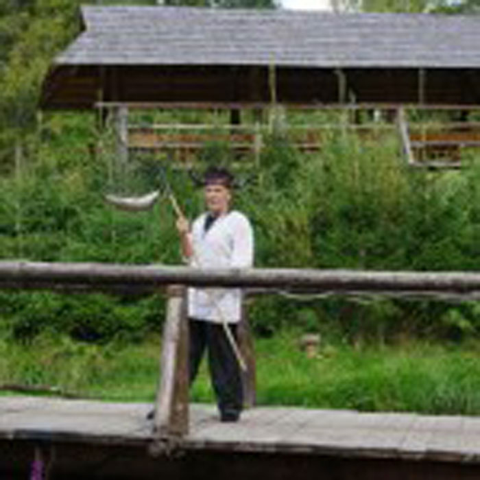 viikingite küla forellipüük