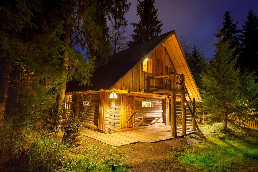 viikingite küla kadakasaun