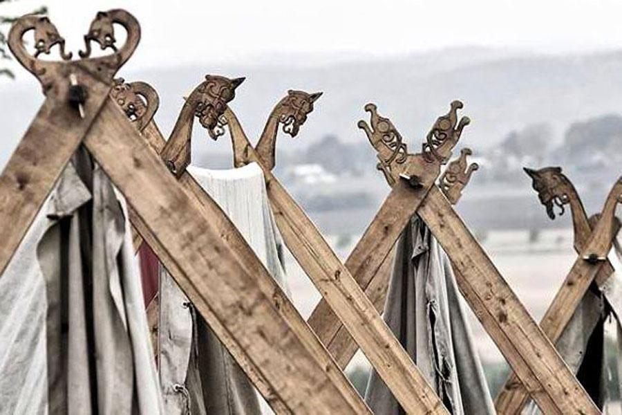 viikingite küla meedias