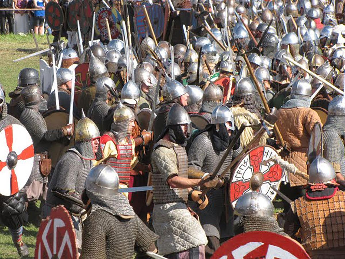 viikingite küla lahingud